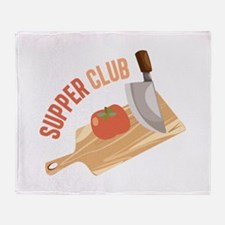 Supper Club Throw Blanket