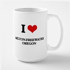 I love Milton-Freewater Oregon Mugs