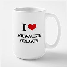 I love Milwaukie Oregon Mugs