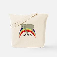 Drifting Off Tote Bag