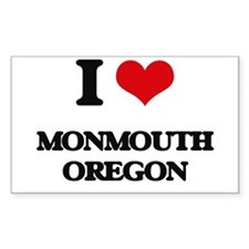 I love Monmouth Oregon Decal