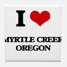 I love Myrtle Creek Oregon Tile Coaster