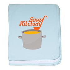 Soup Kitchen baby blanket