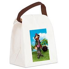 Leprechaun Canvas Lunch Bag