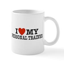 I Love My Personal Trainer  Mug