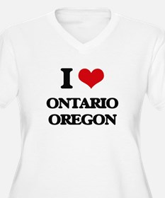 I love Ontario Oregon Plus Size T-Shirt