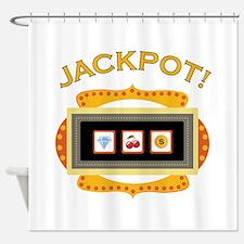 Jackpot! Shower Curtain