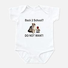 Back to School 2 Infant Bodysuit