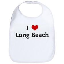 I Love Long Beach Bib
