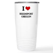 I love Reedsport Oregon Travel Mug