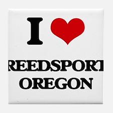 I love Reedsport Oregon Tile Coaster