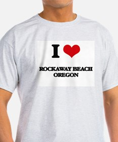 I love Rockaway Beach Oregon T-Shirt
