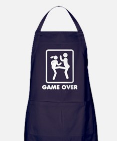Game Over Apron (dark)