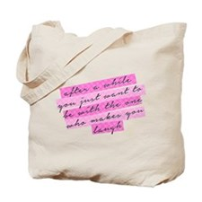 SATC: The One Who Makes You Laugh Tote Bag