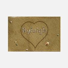 Ryleigh Beach Love Rectangle Magnet