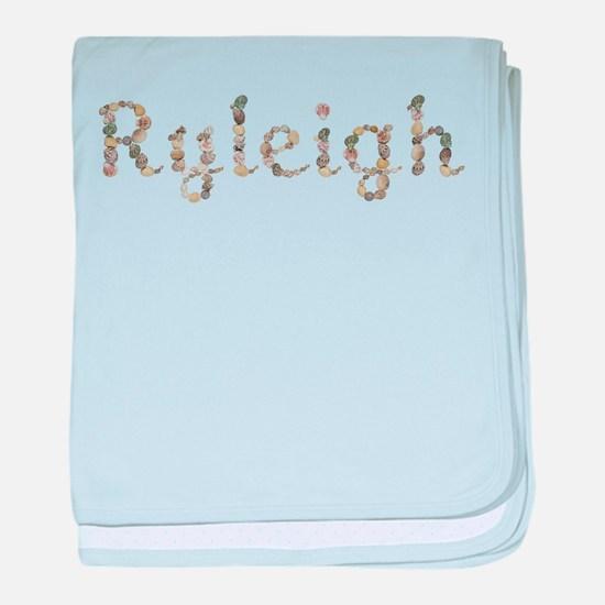 Ryleigh Seashells baby blanket