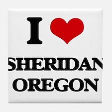 I love Sheridan Oregon Tile Coaster