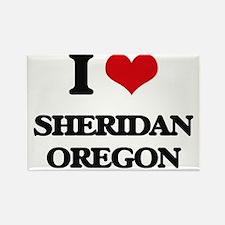 I love Sheridan Oregon Magnets
