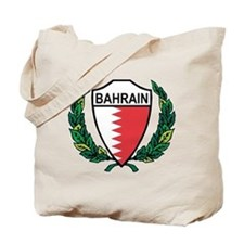 Stylized Bahrain Tote Bag