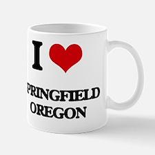 I love Springfield Oregon Mug