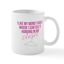 SATC: Money In My Closet Mugs