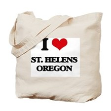 I love St. Helens Oregon Tote Bag
