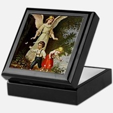 Holy Guardian Angel Keepsake Box