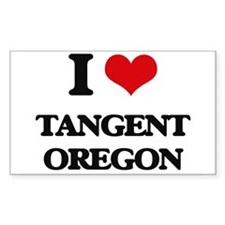 I love Tangent Oregon Decal