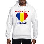 Serban, Valentine's Day Hooded Sweatshirt