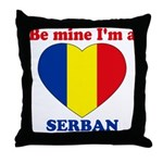 Serban, Valentine's Day  Throw Pillow