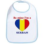 Serban, Valentine's Day  Bib