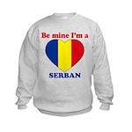 Serban, Valentine's Day  Kids Sweatshirt