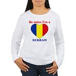 Serban, Valentine's Day  Women's Long Sleeve T-Shi