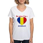 Serban, Valentine's Day  Women's V-Neck T-Shirt