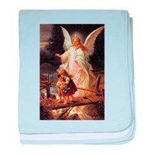 Guardian Angel baby blanket