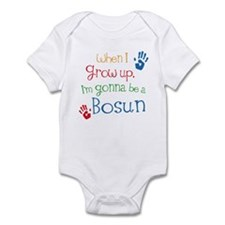 Future Bosun boat swain Infant Bodysuit