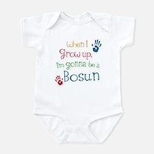 Future Bosun boat swain Infant Bodysuit