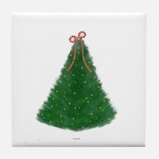 Christmas Tree Tile Coaster
