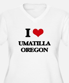 I love Umatilla Oregon Plus Size T-Shirt