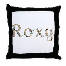 Roxy Seashells Throw Pillow