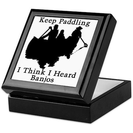 Keep Paddling Keepsake Box