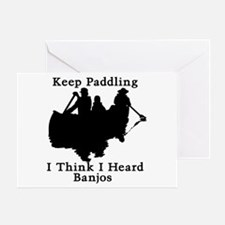 Keep Paddling Greeting Card