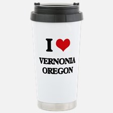 I love Vernonia Oregon Travel Mug
