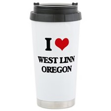 I love West Linn Oregon Travel Mug