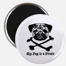 My Pug Is a Pirate Magnet