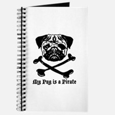 My Pug Is a Pirate Journal