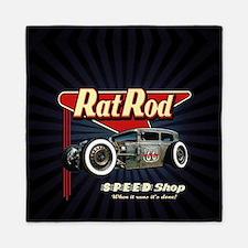 Rat Rod Speed Shop 2 Queen Duvet