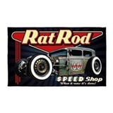 Hot rod 3x5 Rugs