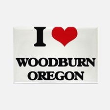 I love Woodburn Oregon Magnets
