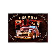 I Bleed Rust 5'x7'Area Rug